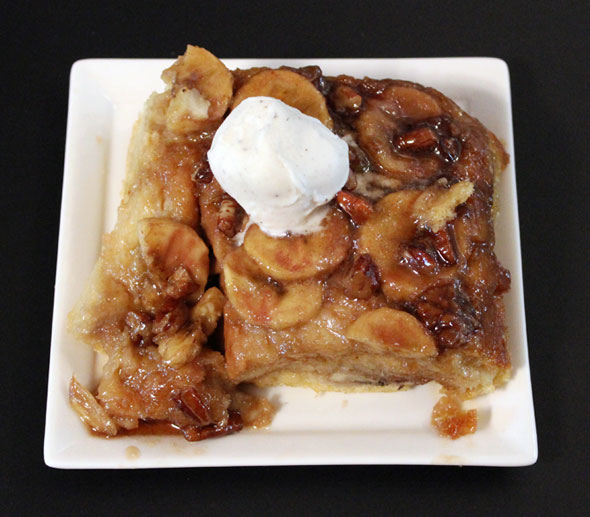 Baked Banana Nut French Toast