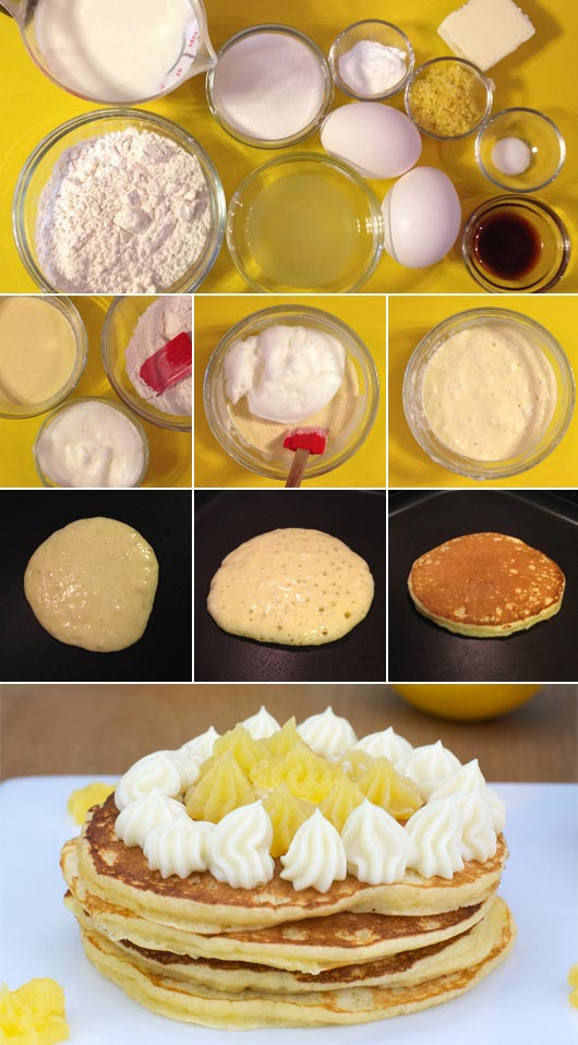 Making Lemon Hotcakes