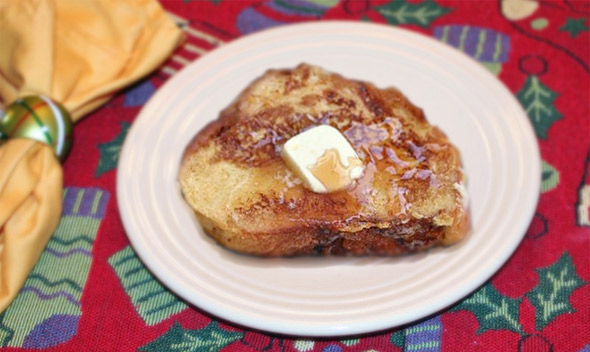 Christmas French Toast (The Easy Way)
