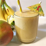 Mango Banana Breakfast Shake