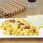 Easy Spicy Tofu Scramble