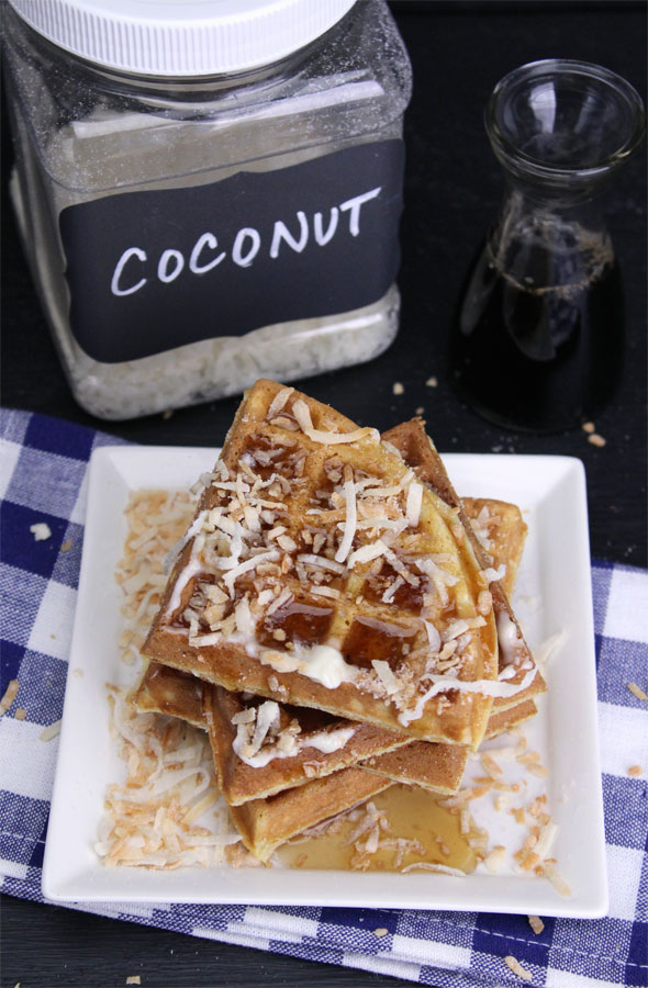 Best Coconut Waffles