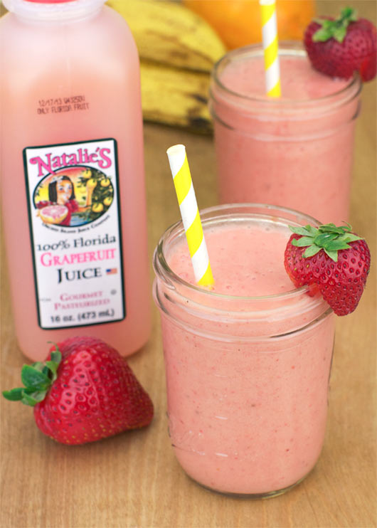 Grapefruit Blast Smoothie