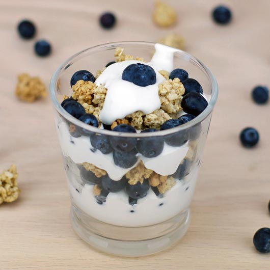 Blueberry Breakfast Parfait
