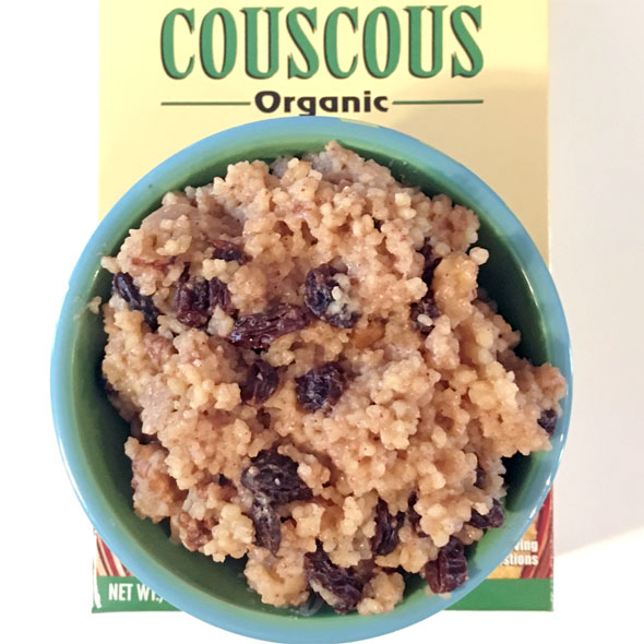Sweet Breakfast Couscous (Tunisian Mesfouf)