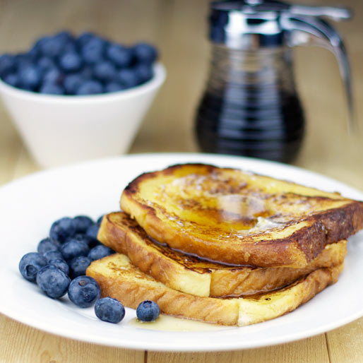 Maple Syrup French Toast