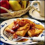 Apple Raisin Crepes