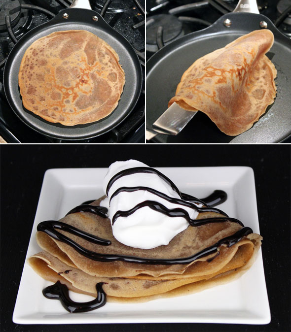how to make super thin crepes