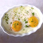 Herbed Baked Eggs (French Inspired)