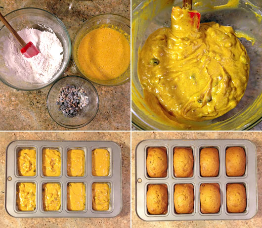 Making Holiday Pumpkin Bread