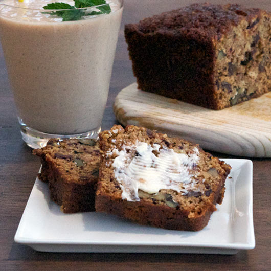 Low-Fat Date Nut Bread