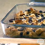 Blueberry Almond Baked French Toast