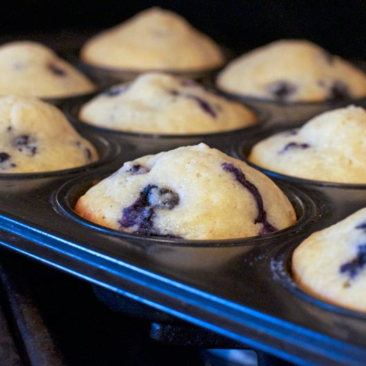 Very Blueberry Muffin Recipe