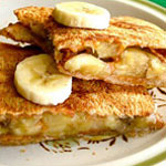 Grilled Peanut Butter & Honey Sandwich