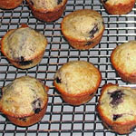 Gluten-Free Mini Blueberry Muffins