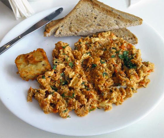 Akoori (Scrambled Eggs)