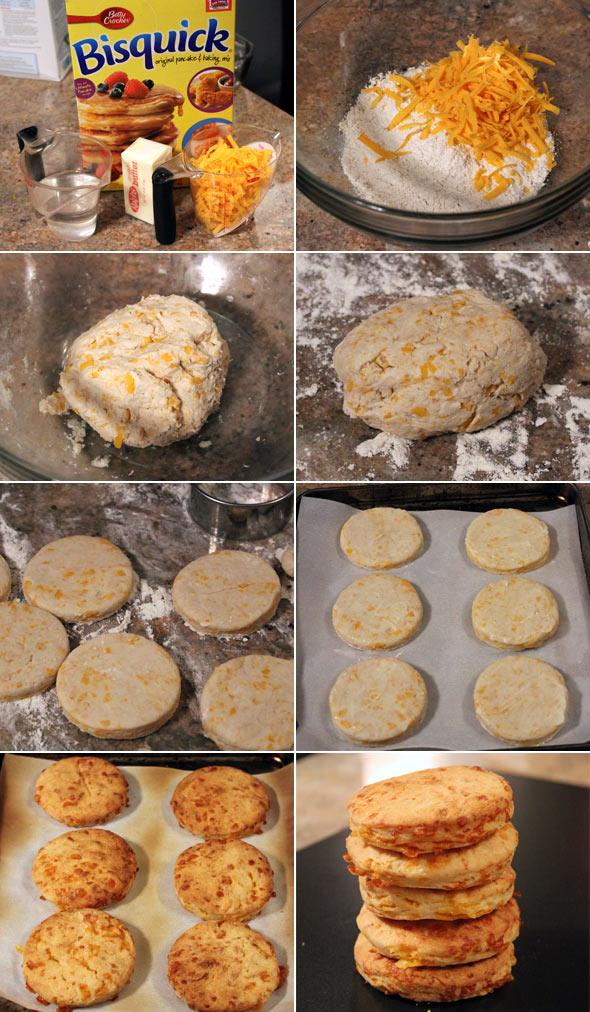 Cheddar Cheese Bisquick Biscuits Recipe Mrbreakfast Com