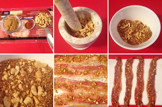 Making Sweet & Spicy Pecan Bacon