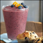 Blueberry Mango Energy Smoothie