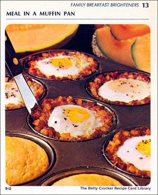 Retro Classic: Meal In A Muffin Tin