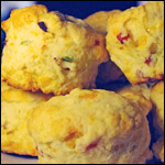 Ham & Cheese Baked-In Biscuits