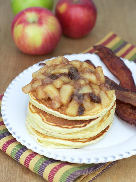 Apple Pancake Topping