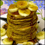 Oh So Delicious Whole Wheat Pancakes