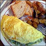 Guacamole Omelet Recipe | MrBreakfast.com