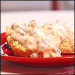 Buttermilk Biscuits & Sausage Gravy