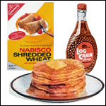 Shredded Wheat Pancakes