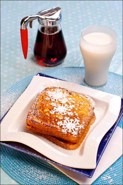 Pumpkin Spice Eggnog French Toast