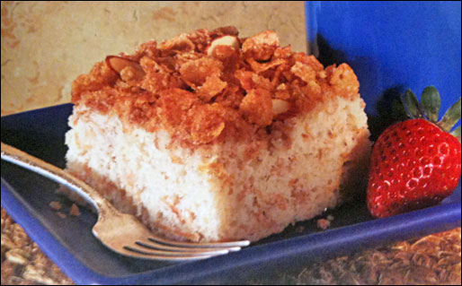 Breakfast Cereal Coffee Cake
