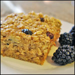 Baked Banana Raisin Oatmeal