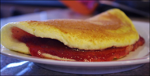Jelly or Jam Omelet