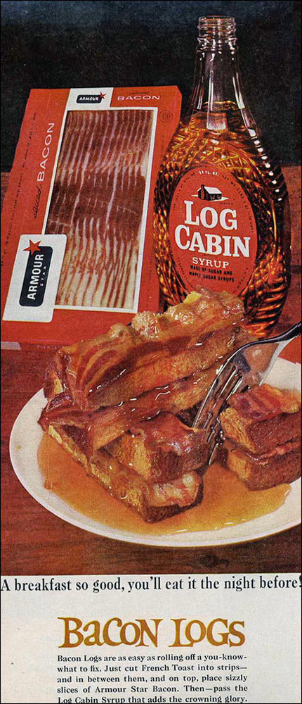 Bacon Logs French Toast 1967
