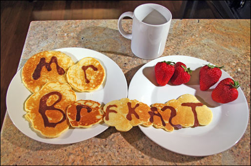 Mr Breakfast Branded Pancakes