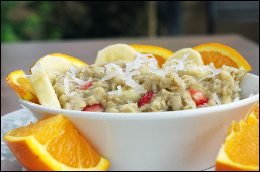 Strawberry Banana Blast Oatmeal