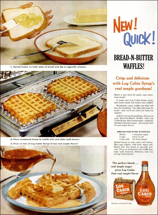 Classic Recipe: Bread-N-Butter Waffles