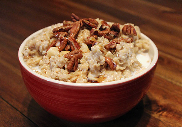 Honey-Nut Oatmeal