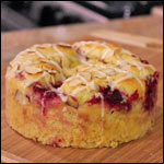 Raspberry Cobbler Coffee Cake