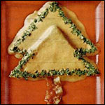 Cheese and Bacon Christmas Tree