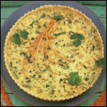 Cheese And Lentil Quiche