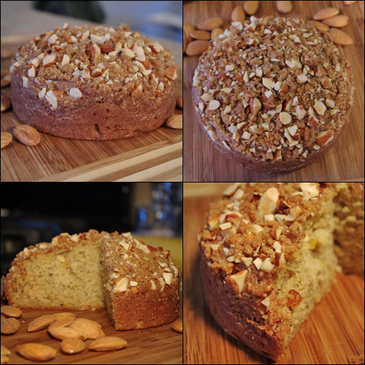 Banana Crunch Coffee Cake