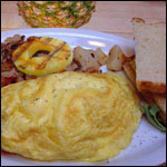 Hawaiian Omelette