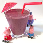 Diet Banana Berry Smoothie