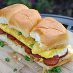 Hawaiian Breakfast Sliders