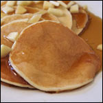 Apple Blender Pancakes
