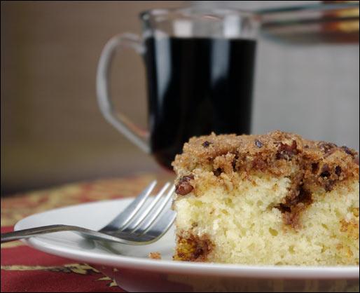 Blitzkuchen (German Coffee Cake)