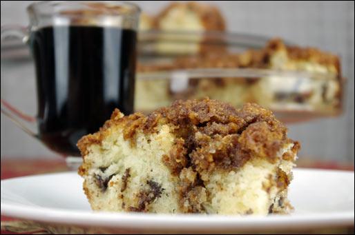 Crunchy Kuchen (German Coffee Cake)