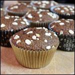Muffin classici sani di crusca